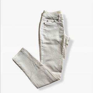 White SO Jeans Like New Kohl's Junior Brand